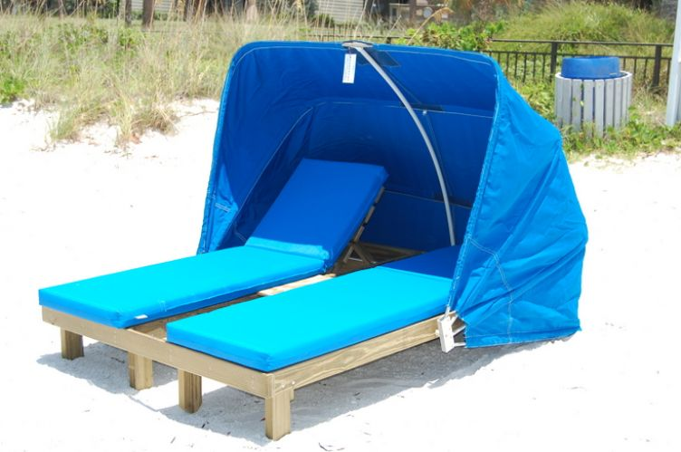 Steamer Chairs With A Cabana