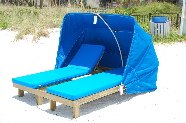 Beach service west our products 727 421 0885 for Cabana chaise lounge